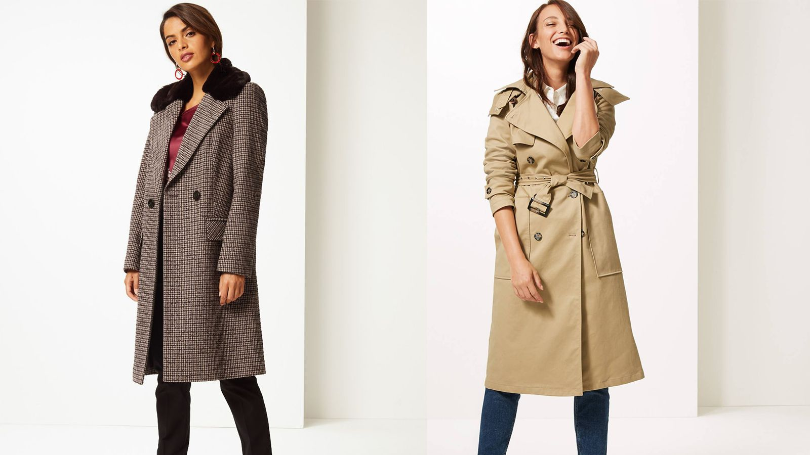 a697aeb16937 The best Marks & Spencer coats for Autumn Winter 2018