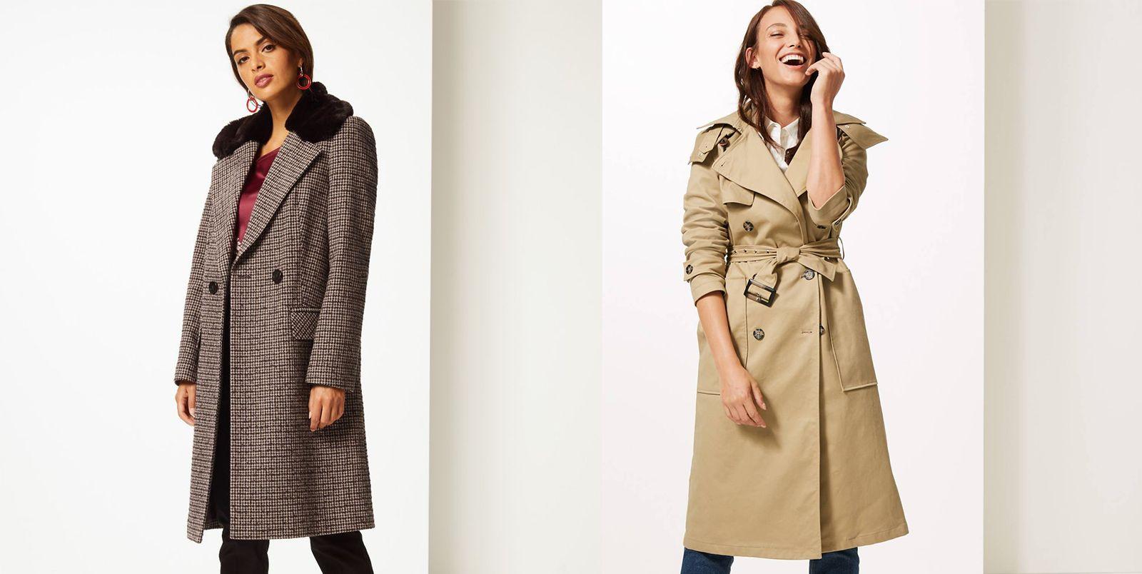 Marks & Spencer coats for winter