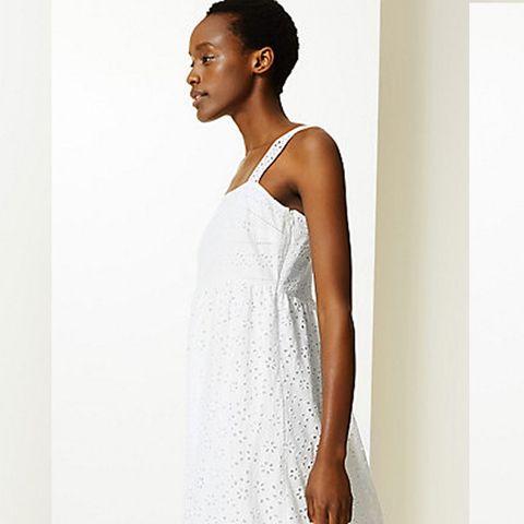 Marks & Spencer white dress