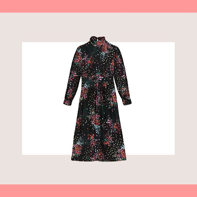 marks  spencer floral dress