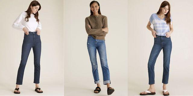 marks  spencer high waisted jeans