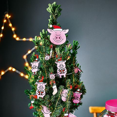 Marks and Spencer Is Selling A Percy Pig Christmas Tree