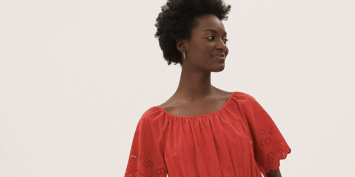 Fans are loving M&S' £50 red summer dress