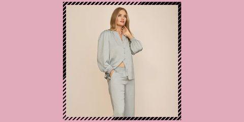 marks spencer satin pyjamas