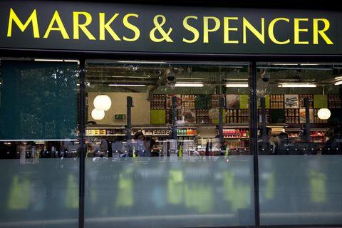 UK - London - Marks & Spencer supermarket