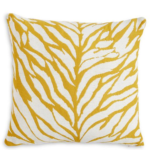 Yellow and white cushion, Marks and Spencer, £15