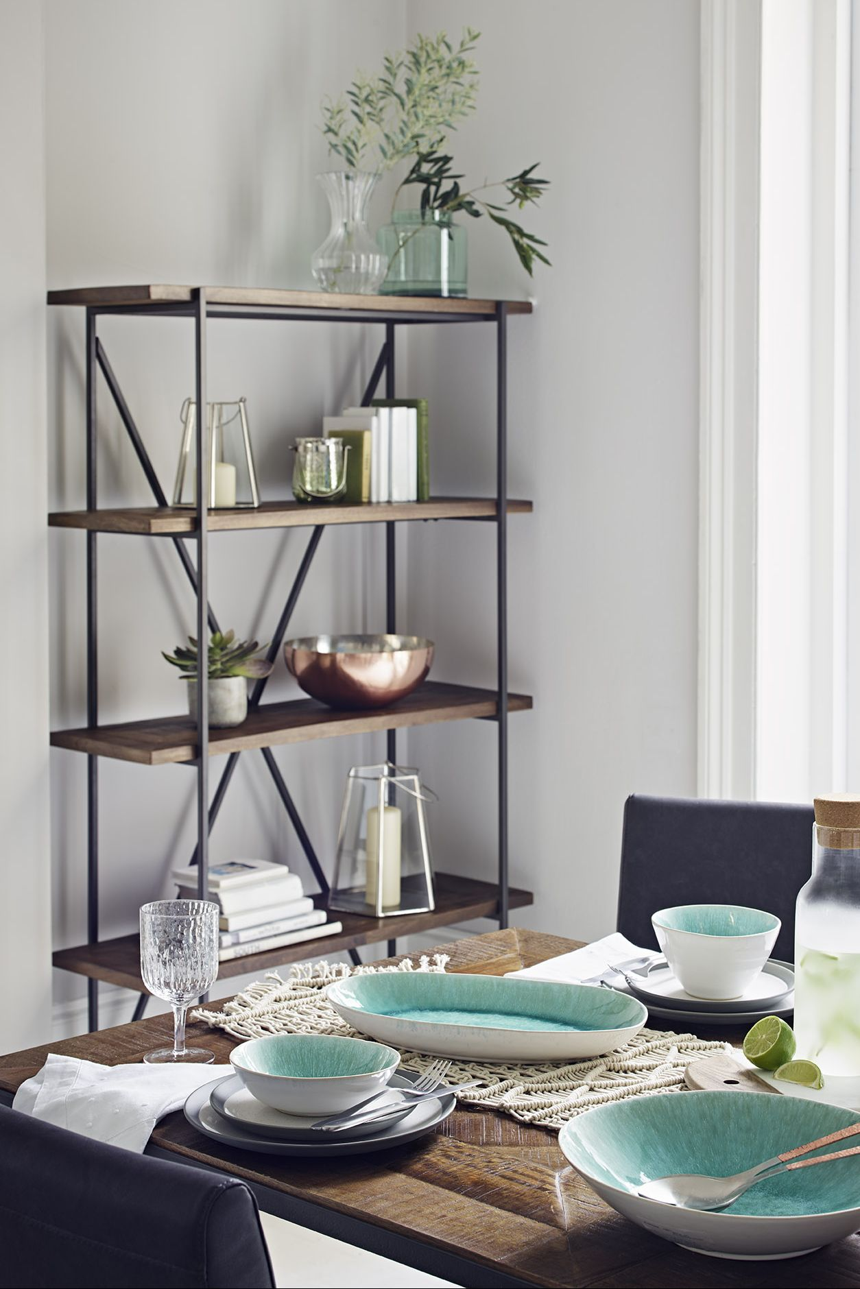 Sanford Parquet Bookcase, Marks & Spencer