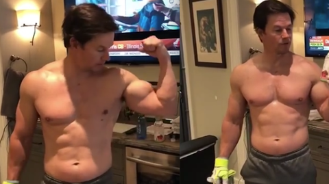 How To Get Abs Like Mark Wahlberg