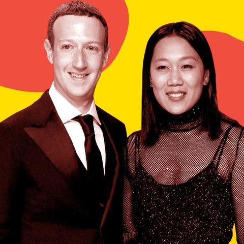 Mark Zuckerberg wife light box instagram