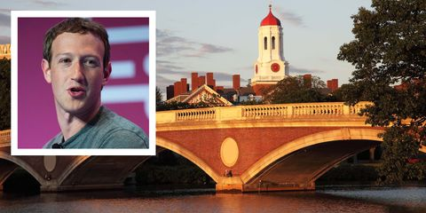 Mark Zuckerberg Harvard