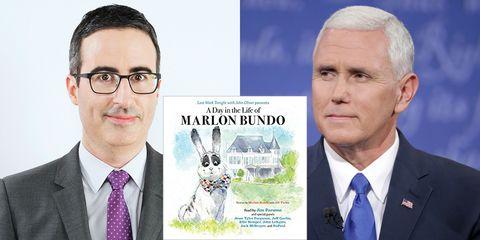 John Oliver book outsells Mike Pence Marlon Bundo