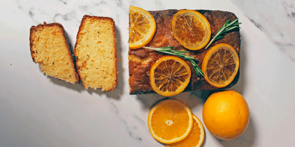 Rosemary Is The Secret Ingredient To Make This Marmalade Cake Taste INCREDIBLE