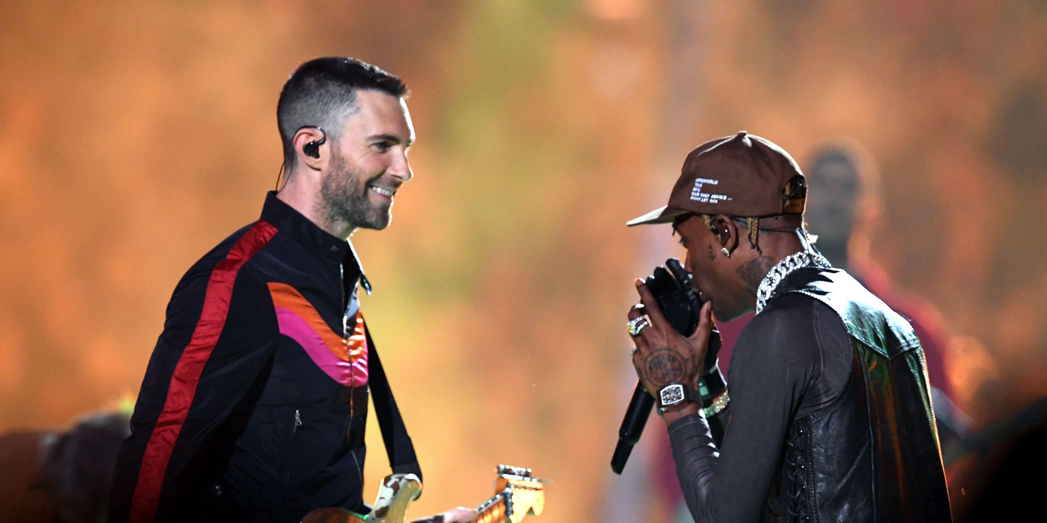 Maroon 5 en Travis Scott - Super Bowl 2019