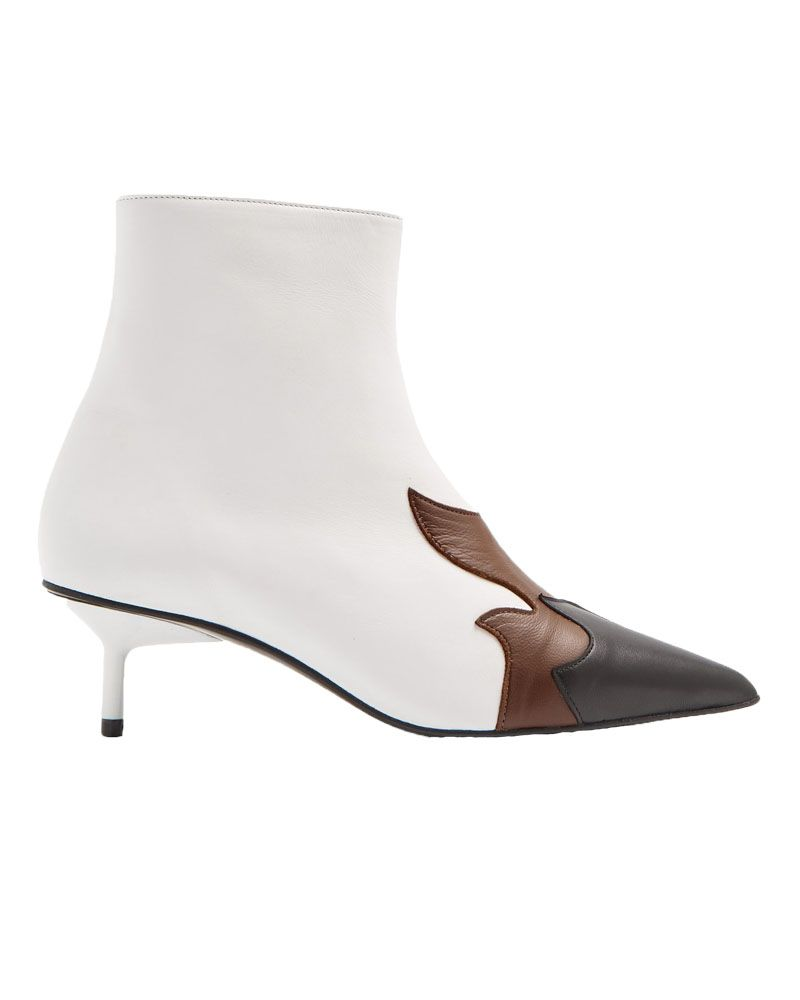 Marques Almeida white flame boots