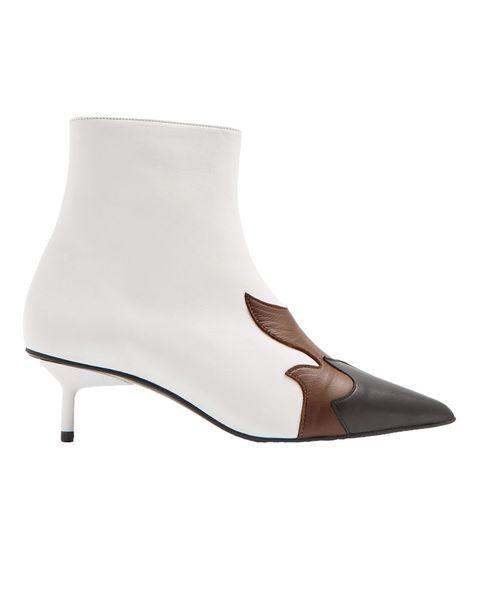 Marques Almeida white flame boots