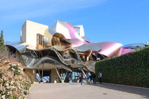 Bodega Marqués de Fiscal de Gehry
