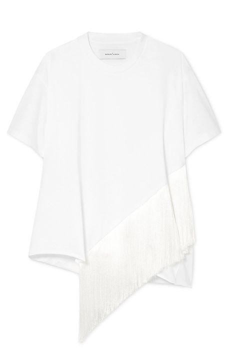 Camiseta con flecos de Almeida de Marques
