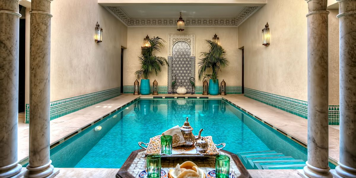 14 of the most magical riads in marrakech. Black Bedroom Furniture Sets. Home Design Ideas