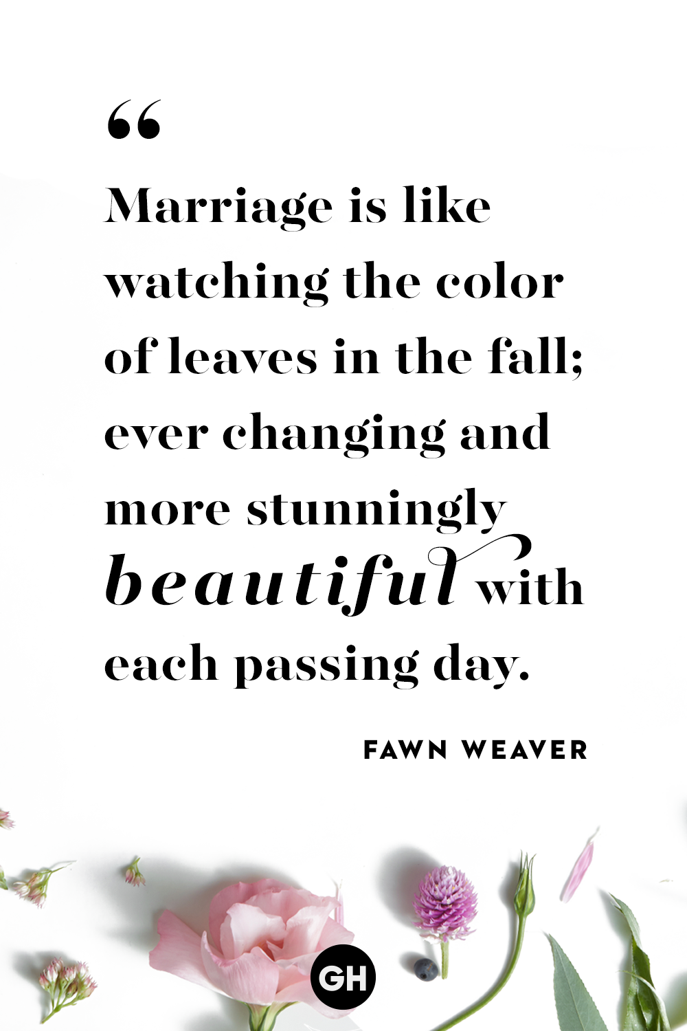 marriage quotes fawn weaver