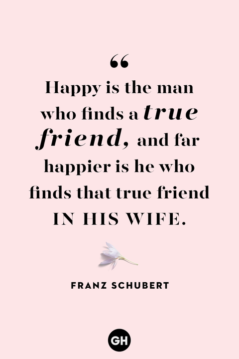 marriage quotes franz schubert
