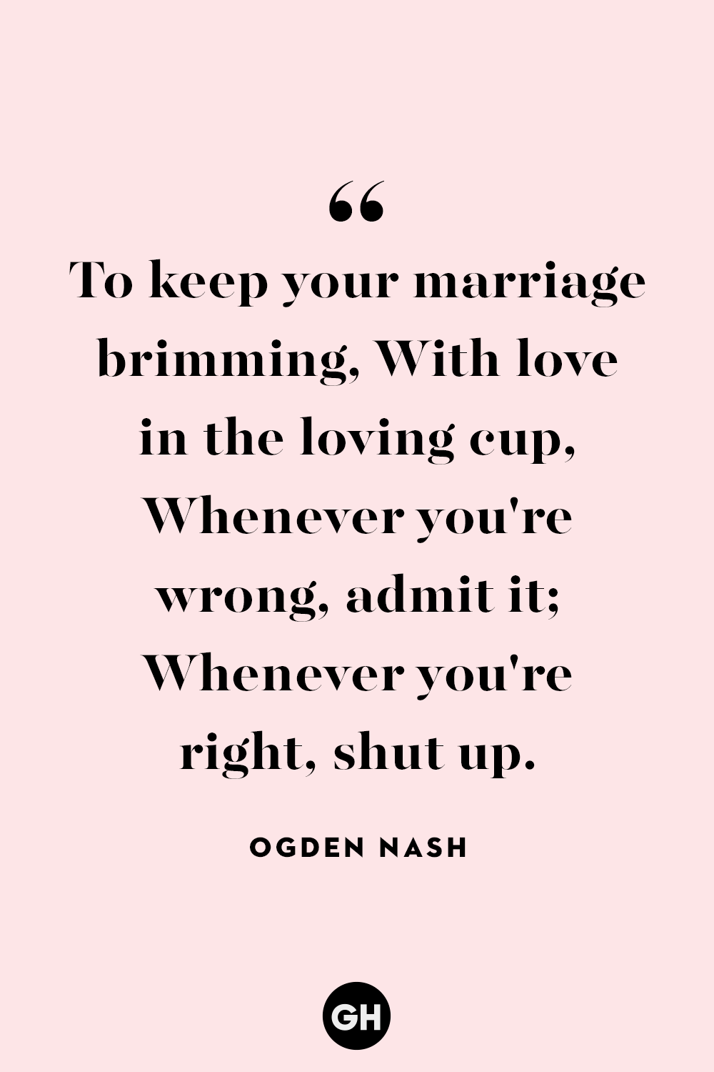 marriage quotes ogden nash