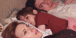 Scarlett Johansson en Adam Driver in Marriage Story van Netflix