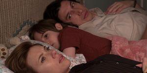 "Scarlett Johansson y Adam Driver en ""Marriage Story"""