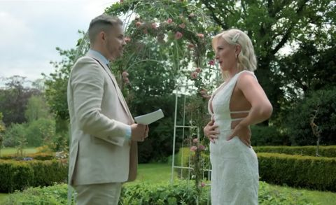 married at first sight, luke and morag at vow renewal
