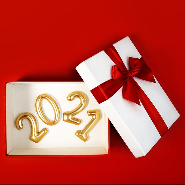 marry christmas and happy new year 2021 concept