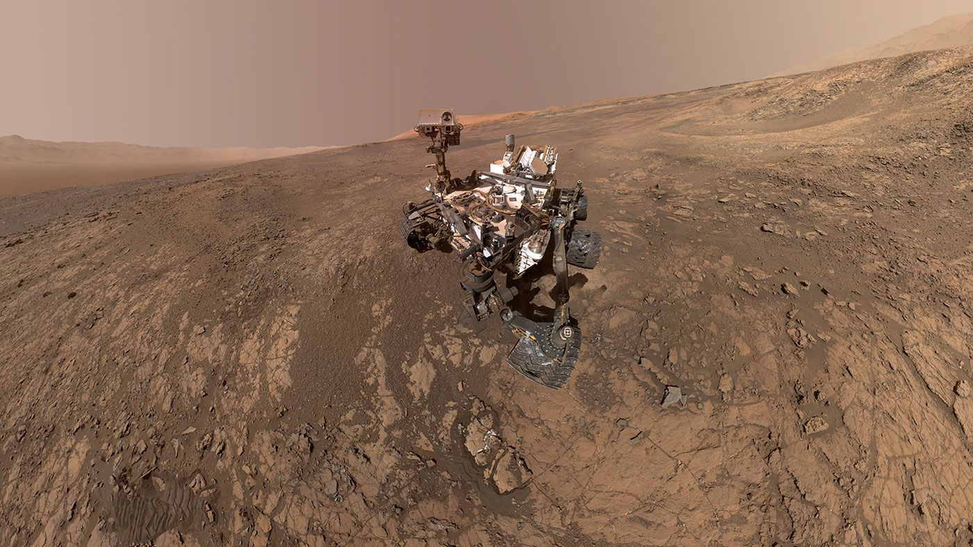 Why the Curiosity Rover Is Taking a Break