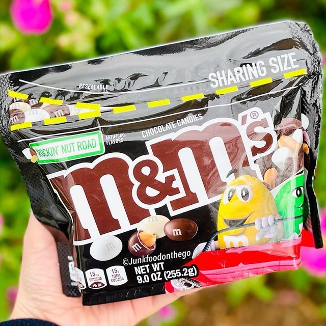 mars, incorporated mms rockin' nut road candy