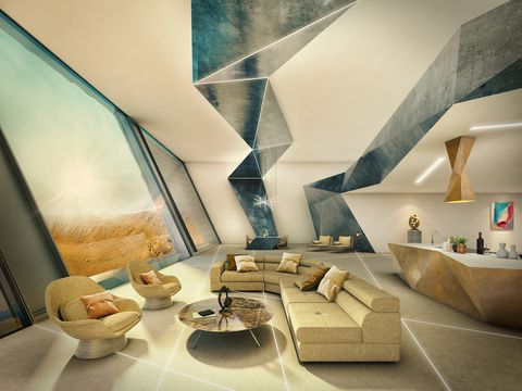 Scientists predict what homes on Mars will look like