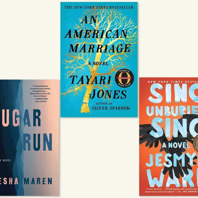 felon, sugar run, an american marriage, sing unburied sing, orange is the new black