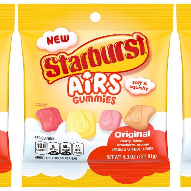 mars wrigley starburst airs gummies original candy