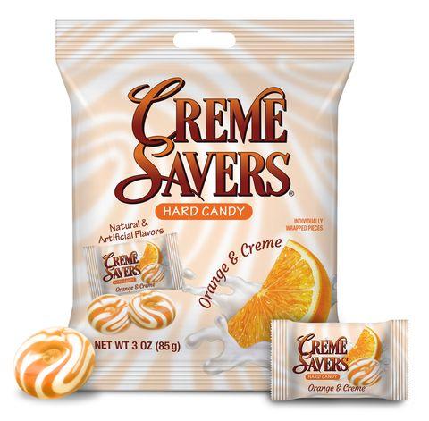 mars wrigley iconic candy creme savers orange and creme hard candies 2021