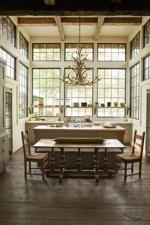 Jeffrey Dungan Farmhouse Kitchen
