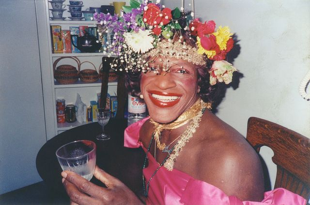 a still from 'the death and life of marsha p johnson'
