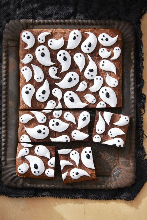 marshmallow ghost brownies recipe