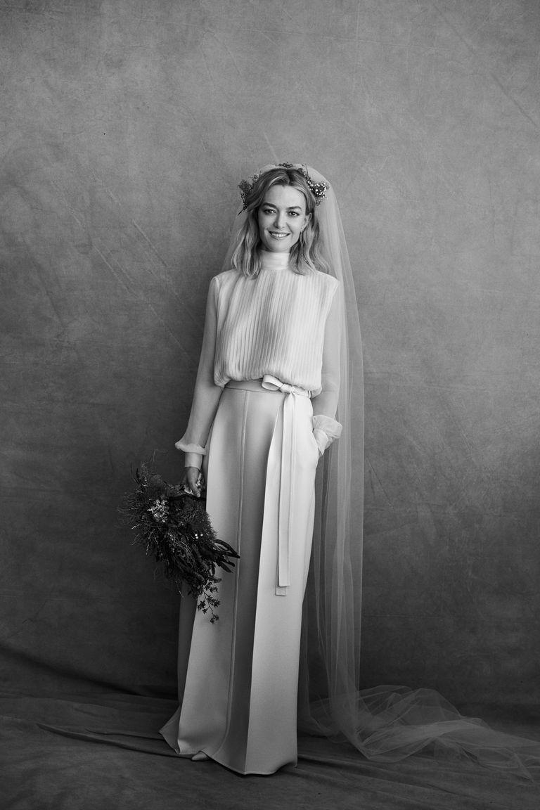 Sonar que tu vestido de novia en negro