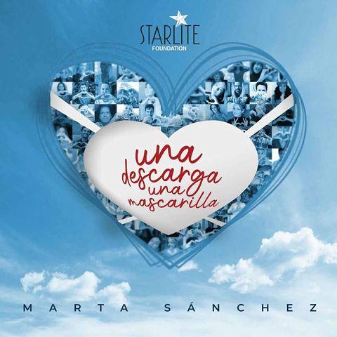 """Portada canción """"Una descatga un corazón"""", de Marta Sánchez"""