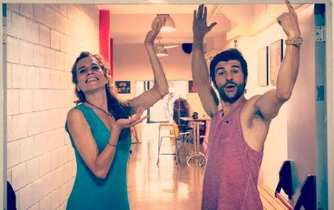 Jordi Coll y Marta Tomasa