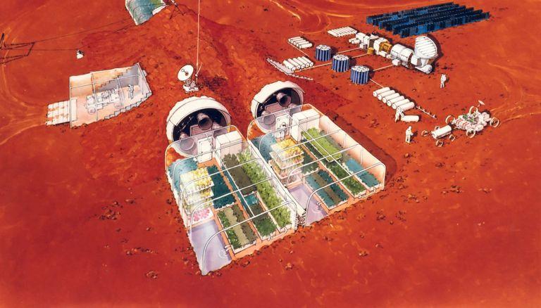 Come vivremo su Marte