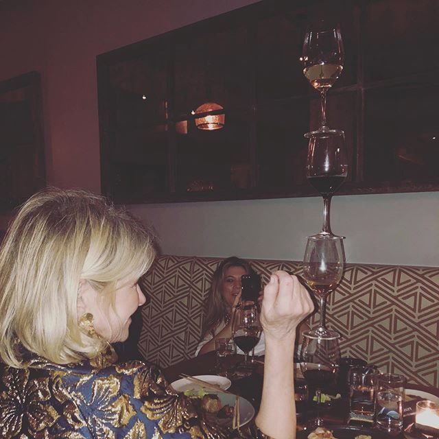 Martha Stewart Showed Off Her Hidden Talent Of Balancing Full Wine Glasses On Top Of Each Other