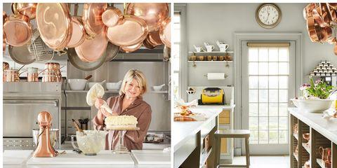 Tour Martha Stewart S Kitchen Martha Stewart Home And Kitchen Photos