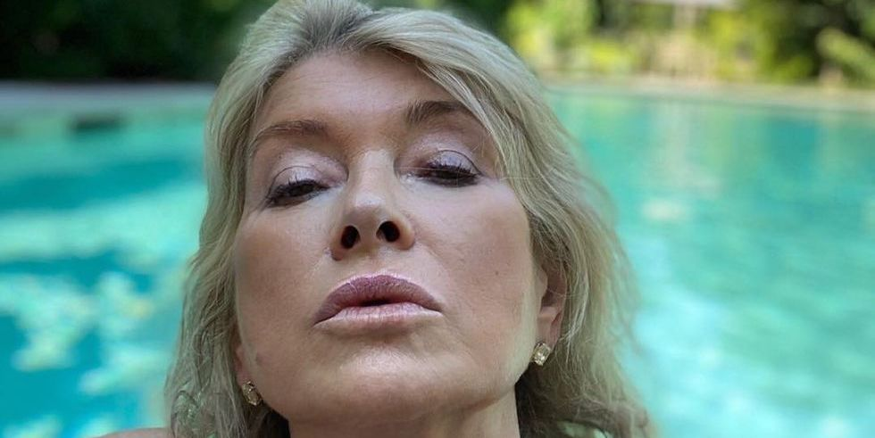 Martha Stewart Said She Took Her Viral 'Thirst Trap' Pool Photo By Mistake But Posted It Anyway