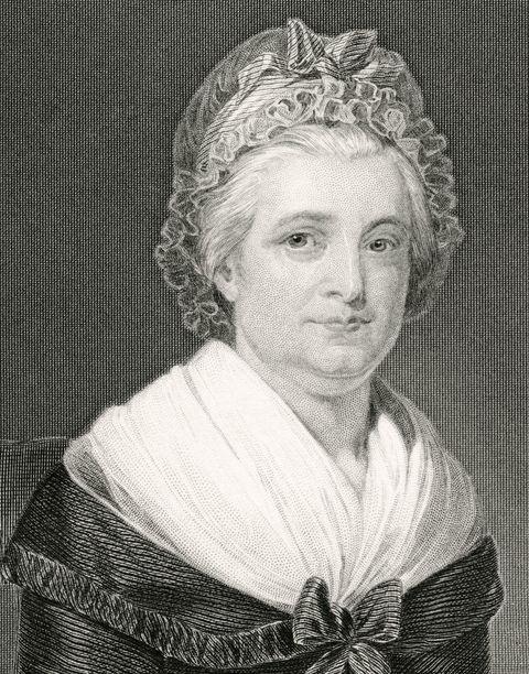 martha washington, 1731 1802
