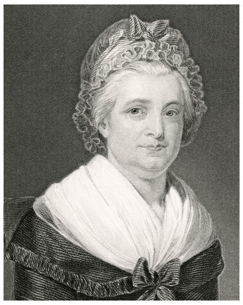 martha washington, 1731 1802