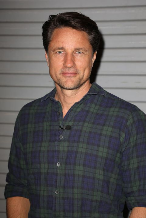 miami, fl   march 1  martin henderson is seen on the set of despierta america at univision studios to promote the film the strangers prey at night on march 1, 2018 in miami, florida  photo by alexander tamargogetty images