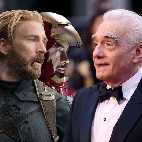 Martin Scorsese, MCU, Captain America, Iron Man, Robert Downey Jr, Chris Evans