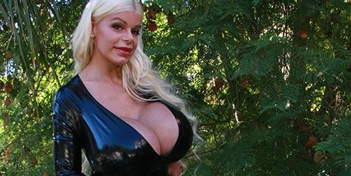 The Woman With The Largest Breast Implants In Europe Now -6752